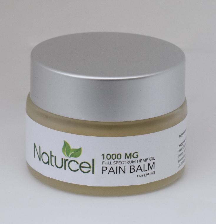 CBD Pain Balm Cocoa Butter 1,000mg Full Spectrum CBD